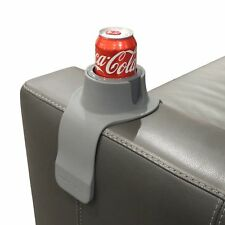 CouchCoaster - The ultimate drink holder for your sofa, Steel Grey