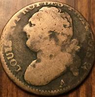 1792 A FRANCE 12 DENIERS