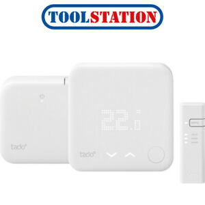 tado� Wireless Smart Thermostat Starter Kit V3+ with Hot Water Control Smart ...