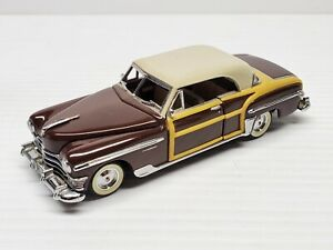 Chrysler Town & Country 1950's Franklin Mint VTG Diecast Classic Car 1:43 Scale