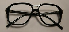 Vintage Regency Eyewear Dbl Br. Black 52/15 Eyeglass Frame New Old Stock #312