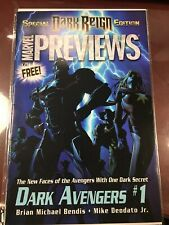 Dark Avengers #1 Preview 1st Iron Patriot Special Dark Reign Edition Previews