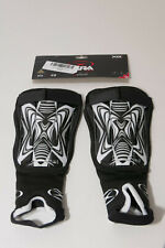 Xara Xg1 Soccer Shin Guard Size Xs For 4 & Under B&W Graphic New Adjustable Wrap