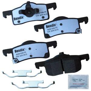 Disc Brake Pad Set-Fleet MetLok Disc Brake Pad Rear Bendix MKD935FM