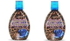 2 Ultimate Tan Dangerous Obsession Dark Indoor Tanning Bed Lotions