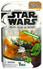 "Star Wars Cartoon Network Yoda 3.75"" Action Figur"