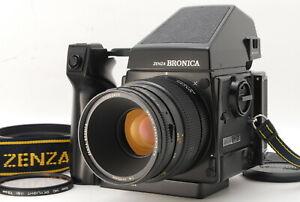 【UNUSED】ZENZA BRONICA GS 1 Macro PG 110mm f/4 Lens 6x7 Film Back From JAPAN