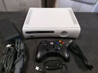 Microsoft Xbox 360 4GB Core Matte White Video Game Console Gaming System HDMI