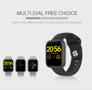 Bluetooth Smart Watch For Android iOS iPhone Samsung Sport Bracelet Pedometer