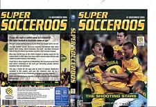SOCCER SOCCEROOS THE SHOOTING STARS 2005 DVD AUSTRALIA FOOTBALL URUGUAY