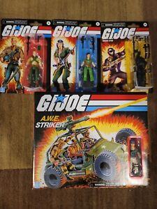 GI JOE Retro Collection A.W.E. Striker Duke Lady J & Snake Eyes, Cobra Commander