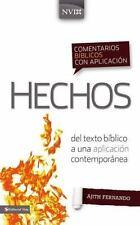 Comentario biblico con aplicacion NVI Hechos: Del texto biblico a una aplicacion