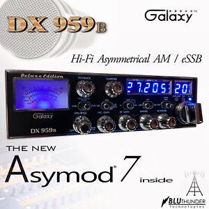 GALAXY DX-959b & THE NEW ASYMOD 7 ASYMMETRICAL Hi-Fi AM MOD + eSSB