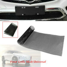 Front Grille Mesh Car Bumper fender Rhombic Sheet Metal Alloy Net Dissipate Heat