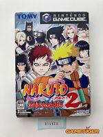 NARUTO GEKITOU NINJA TAISEN 2 Nintendo Gamecube JAPAN Ref:314623