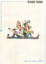 DPO 21 03 501 / FDC 15/03//03 / Lucky Luke Fête du timbre 2003