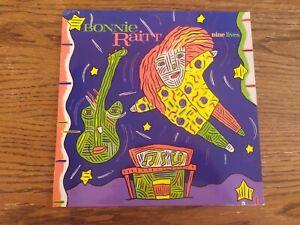 Vinyl LP Bonnie Raitt Nine Lives 1986 Warner 1st Pressing German 925 486 1 EX/EX
