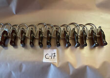 Coca Cola Bottle Shower Hooks. 12 Hooks