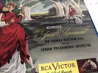 Handel - Beecham: The Great Elopement, 78 Rpm 3 Records Rca DM1093
