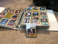 BARRY BONDS 1987 Topps #320 ( Short 3 & 0 ) Plus Folder Full ( Storage Treasure)