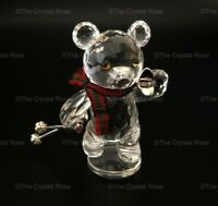 RARE Retired Swarovski Crystal Kris Bear on Skis / Skiing 234710 Mint Boxed