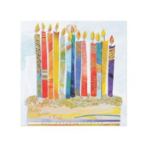 Papyrus Happy Birthday - Paper Icon Candles