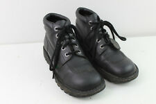 KICKERS Black Leather Boots size Eu 41