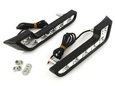 Neuen 2X 6 LED Weiße Auto Nebel Fahrlampen 12V Universal DRL Tagfahrlicht
