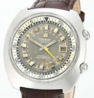 Rare Vintage 1971 TISSOT T12 Navigator Automatic Date Mens Wrist Watch