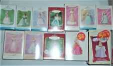 Lot 12 Barbie Hallmark Keepsake Ornaments Springtime & Children col & Birthday