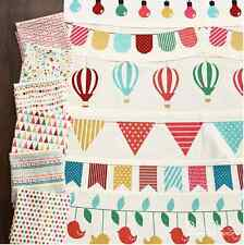 Print fabric happy party 100% cotton 112 cm(44 inch) wide per meter