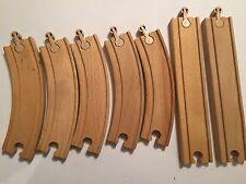 7 in legno giocattolo Legno PISTA TRENO Bundle direzione modulatori + Brio Thomas ELC IKEA
