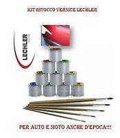 COLORE KIT VERNICE RITOCCO 50 GR LECHLER FIAT GRUPPO N 293/A ROSSO ESUBERANTE