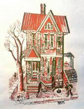 "John C. Menihan Original Pencil Signed Silkscreen - ""House Across the Street"""