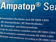 Ampatod Seal Schweissbare Dach- Unterdeckbahn UnterSpannbahn Meterware & Rolle