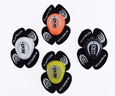 R&G Aero Racing Knee Sliders BLACK/WHITE/YELLOW/ORANGE Ideal for Race Track Day