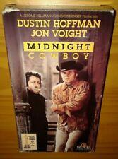 MIDNIGHT COWBOY / PLAY TESTED VHS of 1969 film, DUSTIN HOFFMAN, JON VOIGHT