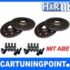 H&r separadores Eje D+T ABE para Porsche Boxster Tipo 981 14mm negro