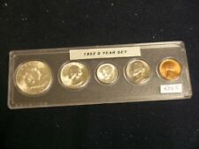1952-S Very Choice BU San Francisco Mint Year Set - Nice 5-Coin Set    52S5