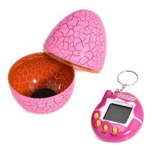 Magic Funny Virtual Cyber Pet Tamagotchi With Eggshell 90s Nostalgic Machine Toy Pink
