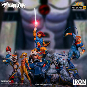 THUNDERCATS Complete Iron Studios 1:10 Scale Diorama Statue Limited LION-O NRFB