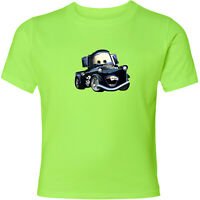Disney Cars Black Mater Unisex Men Women Video Game Cartoon T-Shirt