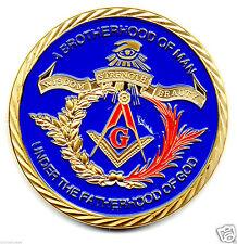 Freemasonry Masonic 24 Carat Gold Plated Coin (26)