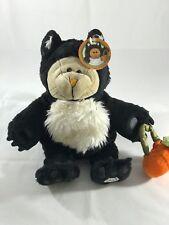 Starbucks Bearista Bear 2005 Halloween Cat with tags