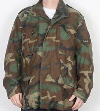 """M65 Esercito Americano Field Jacket grandi REG 42"""" 44"""" mimetico camouflage (4AL) 1991"""