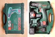 Bosch PSR 960 9.6V ni-cd controlador de Taladro inalámbrico con cargador y dos baterías