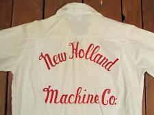 VINTAGE 1960s Nuevo Holland Máquina Co. Bolos Equipo Camisa Blusa Sperry 2/2