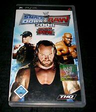 WWE SmackDown vs. Raw 2008 (Sony PSP, 2007) PLAYSTATION PORTABLE GIOCO
