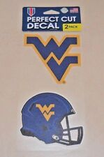 WVU WEST VIRGINIA MOUNTAINEERS   2 4X4 DECALS FAST FREE SHIPPING