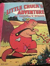 Little Chick's Adventure by Thornton W. Burgess, McLoughin Bros., Inc. 1942